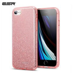 ESR iPhone SE 2020 / 8 / 7 Makeup Glitter Case, Rose Gold