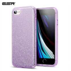 Carcasa ESR iPhone SE 2020 / 8 / 7 Makeup Glitter Case, Purple