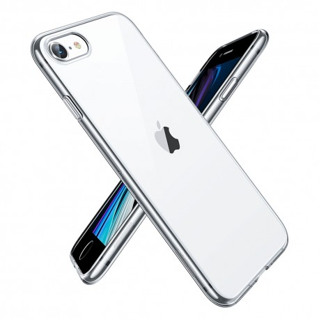 Carcasa ESR iPhone SE 2020 / 8 / 7 Essential Zero, Clear