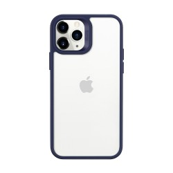 ESR Classic Hybrid - Blue bumper+Clear back case for iPhone 12 Max/Pro