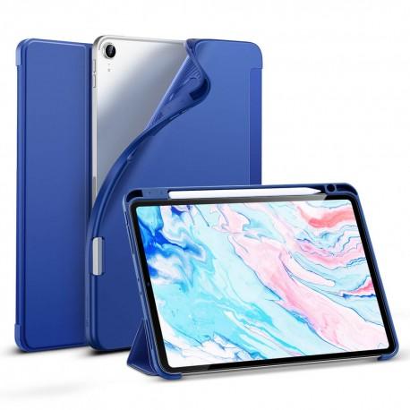 Carcasa ESR iPad Air 4 10.9 inchi (2020) Rebound Pencil, Navy Blue