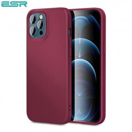 Carcasa ESR Cloud Yippee iPhone 12 Pro Max, Redwine
