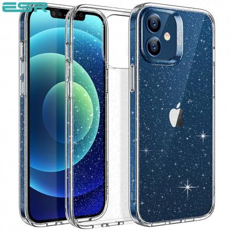 Carcasa ESR Shimmer iPhone 12 Mini, Clear Glitter