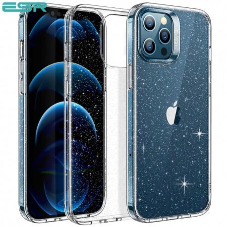Carcasa ESR Shimmer iPhone 12 / 12 Pro, Clear Glitter