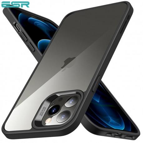 Carcasa ESR Classic Hybrid iPhone 12 Pro Max, Black frame, Clear back