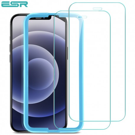 ESR iPhone 12 mini Tempered Glass Screen Protector (2 Pack)