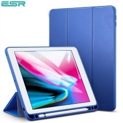 Carcasa ESR Yippee Color Plus Pencil pentru iPad 9.7 inchi 2018 / 2017, Navy Blue