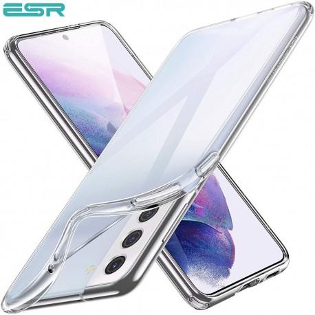 Husa slim ESR Essential Zero Slim Clear Soft TPU Case pentru Samsung Galaxy S21 Plus, Clear