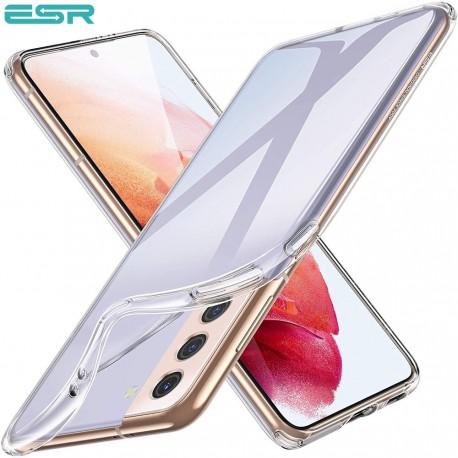 ESR Essential Zero Slim Clear Soft TPU Case for Samsung Galaxy S21, Clear
