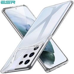 Husa slim ESR Essential Zero Slim Clear Soft TPU Case pentru Samsung Galaxy S21 Ultra, Clear